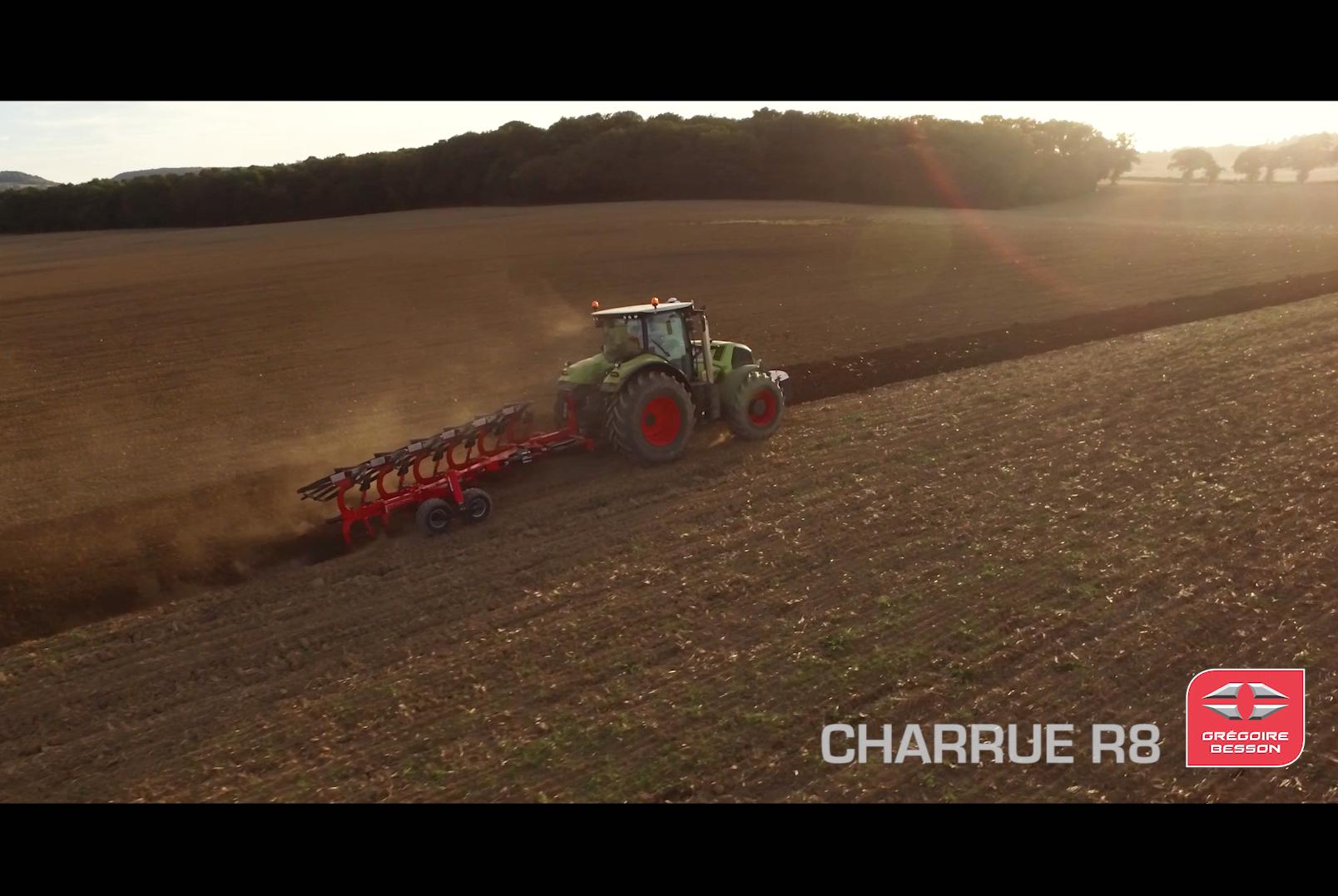 Vidéo produit charrue R8 Grégoire Besson